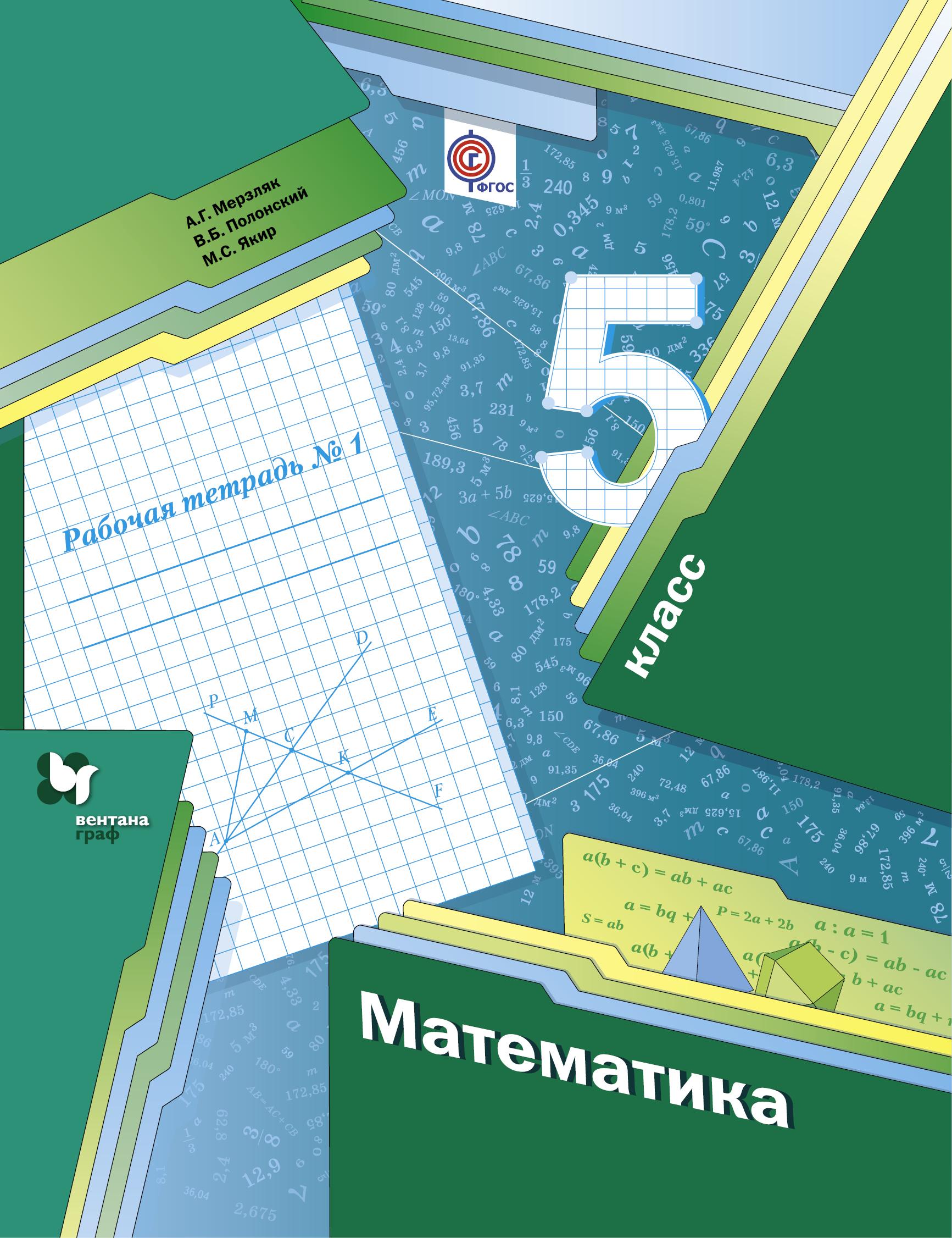 *Математика. 5 класс. Рабочая тетрадь №1