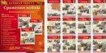Великая Победа. Сражения войны. 12 демонстрационных картинок с текстом (210х250мм)