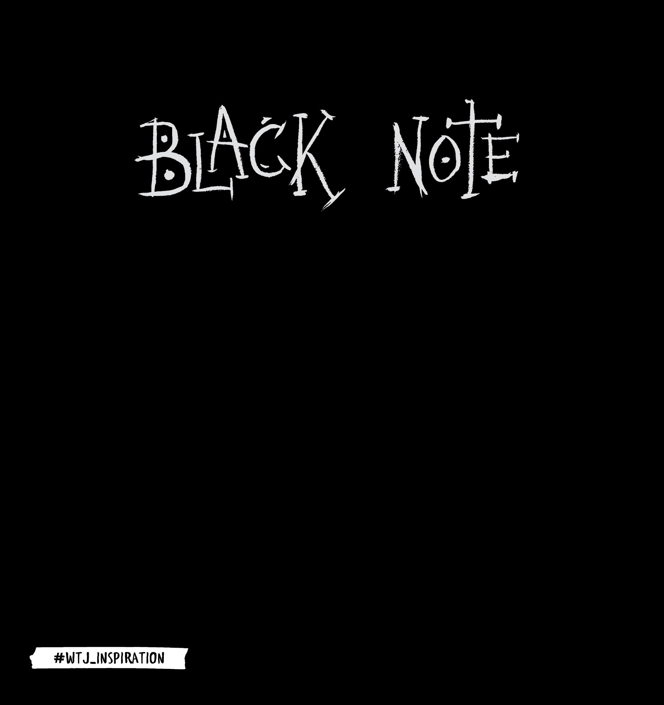 Black Note. Альбом для рисования на черной бумаге
