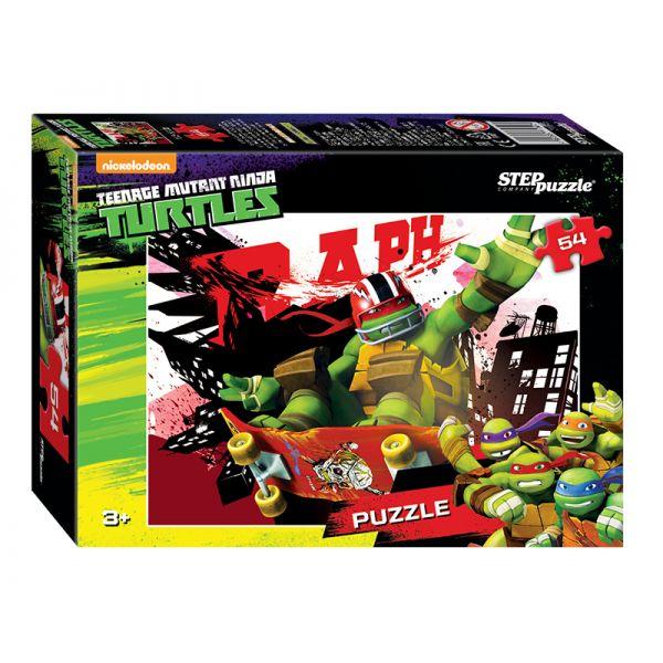 71145 Мозаика puzzle 54 Черепашки Ниндзя
