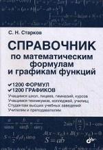 Справочник по математическим формулам и графикам ф