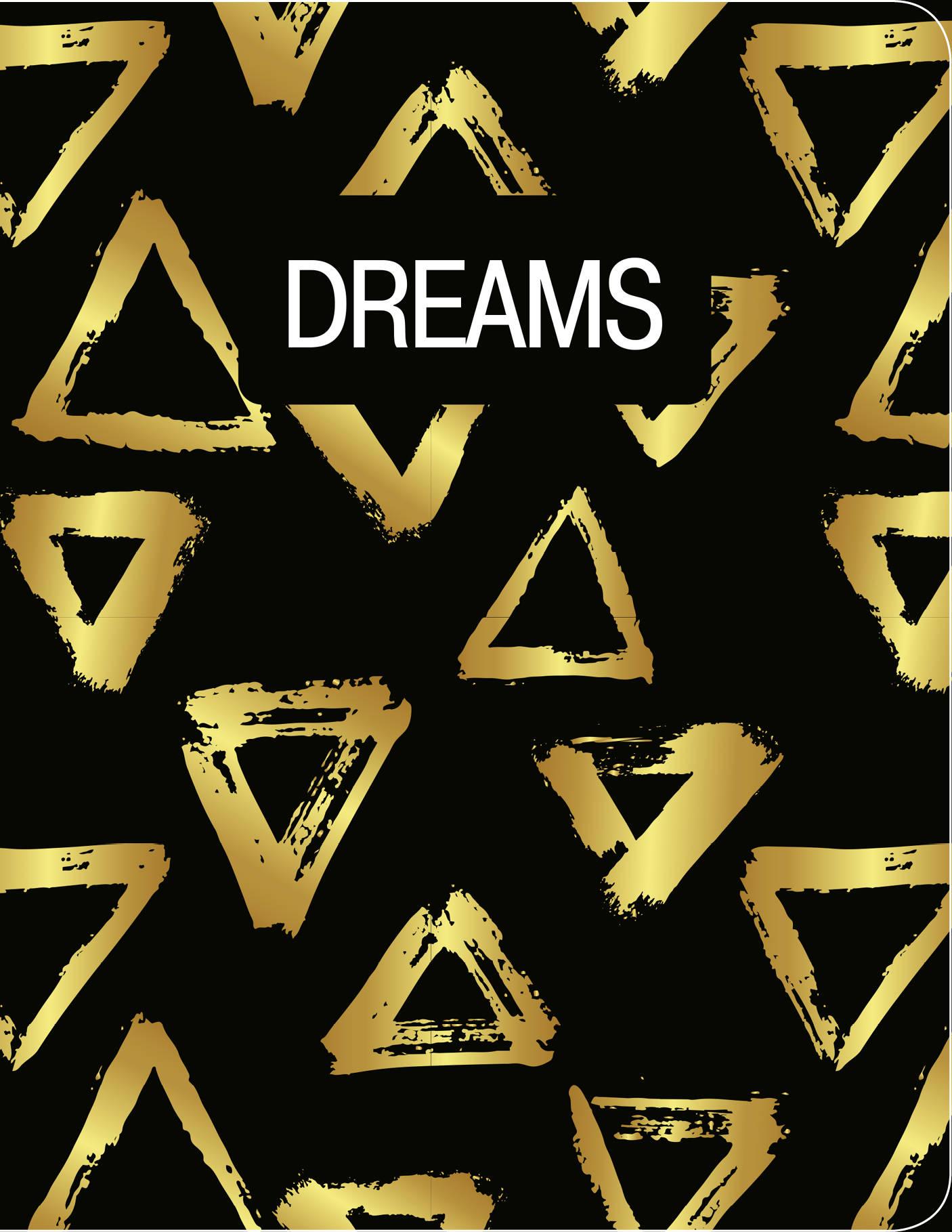 Dreams. Тетрадь студенческая (В5, зол. фольга, 40 л.)
