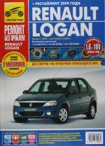 Renault Logan (+ рестайлинг) с 2005-2009 гг. (цв.)