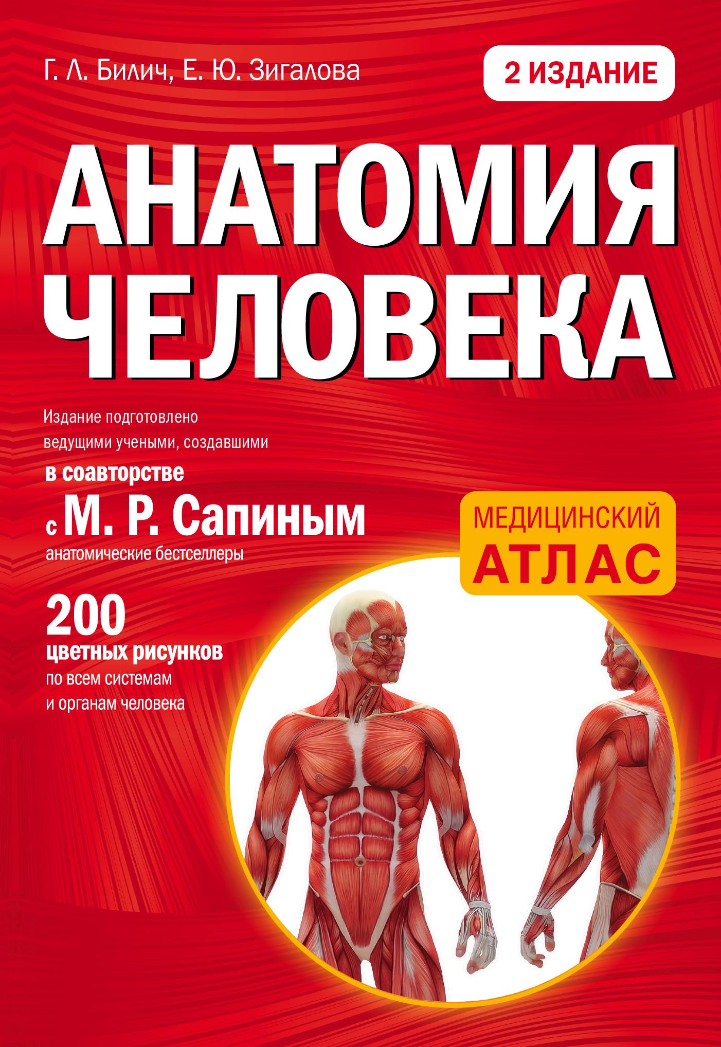 Анатомия человека: 2 издание
