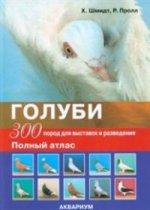 Голуби. 300 пород для выставок и разведения. (цв.)