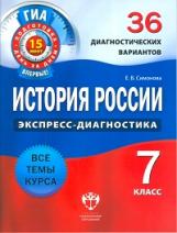 ГИА История России 7кл [36 диагност.вар.]