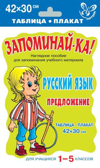 Русский язык. Предложение 1-5кл