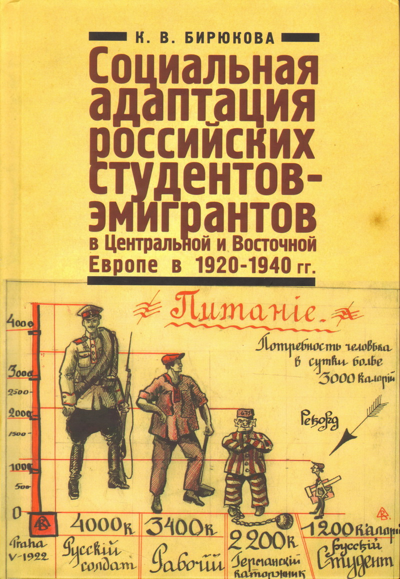 Социальная адаптация российских студентов-эмигрантов в Централ. и Вост. Европе в 1920-1940гг