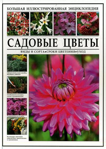Виды и садовых цветов