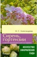 Сирень,гортензии и др.красивоцветущие кустарники
