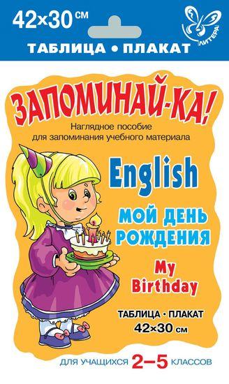 Английский. Мой день рождения. Для уч-ся 2-5 кл