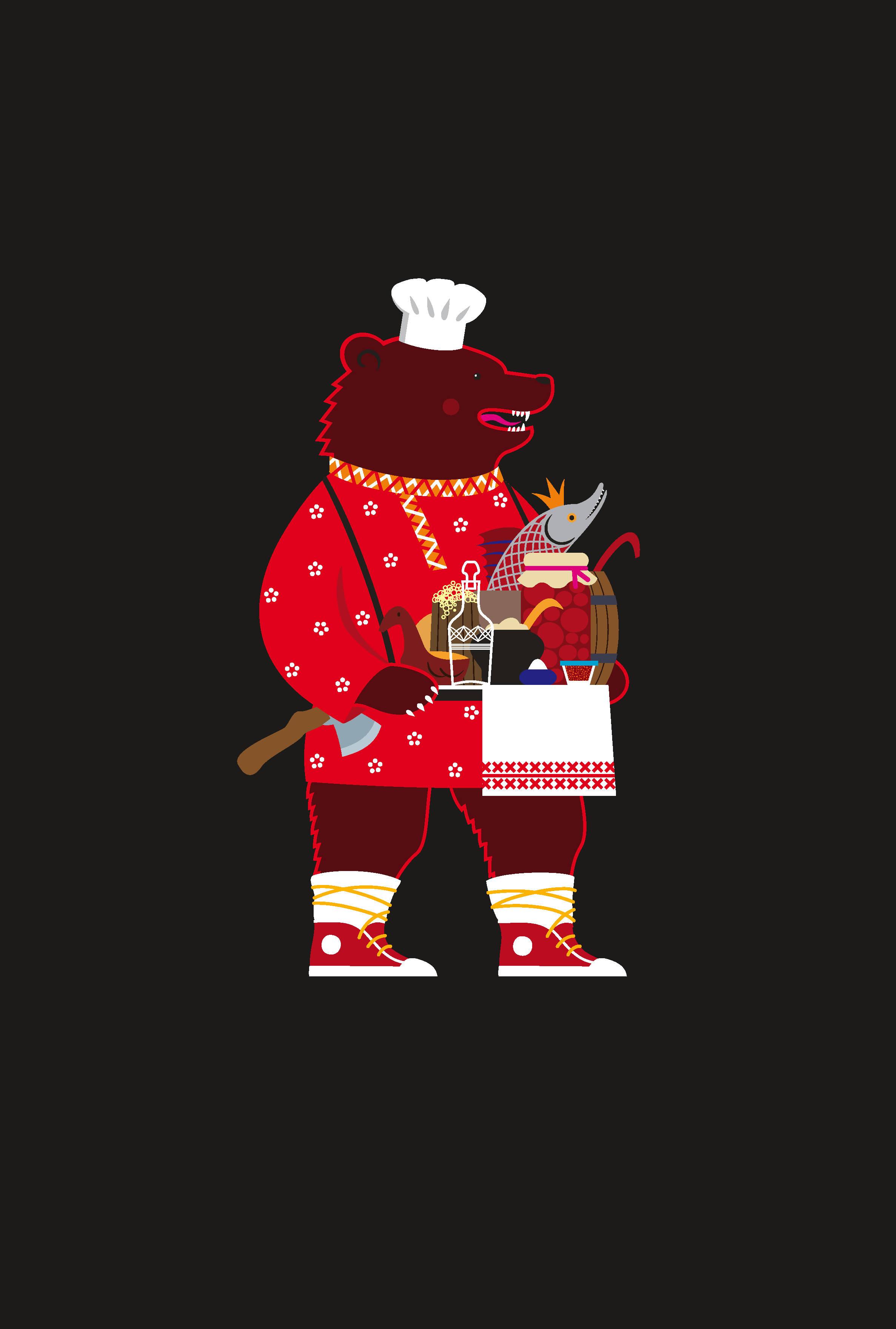 Герои новой русской кухни