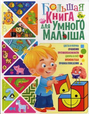 Большая книга для умного малыша. Скиба Т.В.