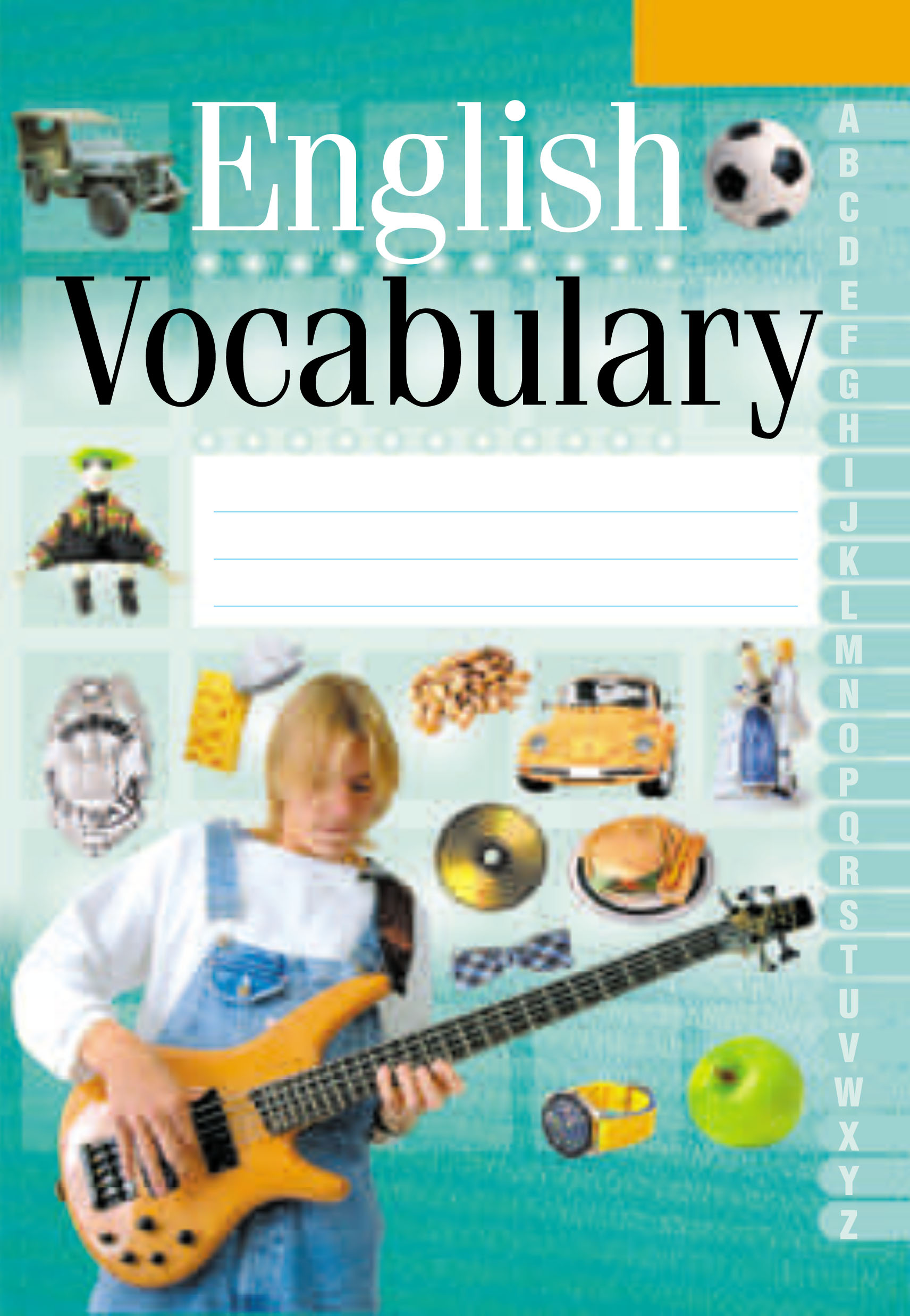 English Vocabulary. Английский язык. Тетрадь-словарик (зеленая обложка) 2016