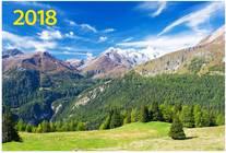 Альпийская сказка. Настенный трехблочный квартальный календарь на 2018 год с курсором в индивидуальной упаковке (Европакет)