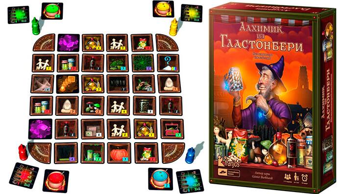 Настольная игра Алхимик из Гластонбери (52014)