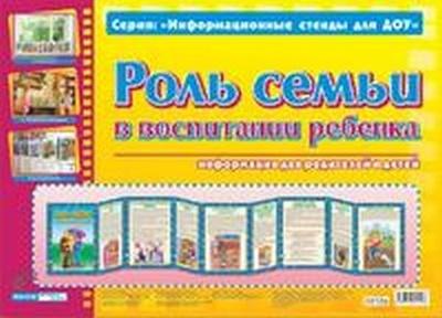 Демонстр. материал А4 Роль семьи в воспит. ребенка
