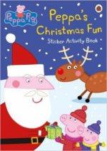 Peppa Pig: Peppas Christmas (Sticker Book)