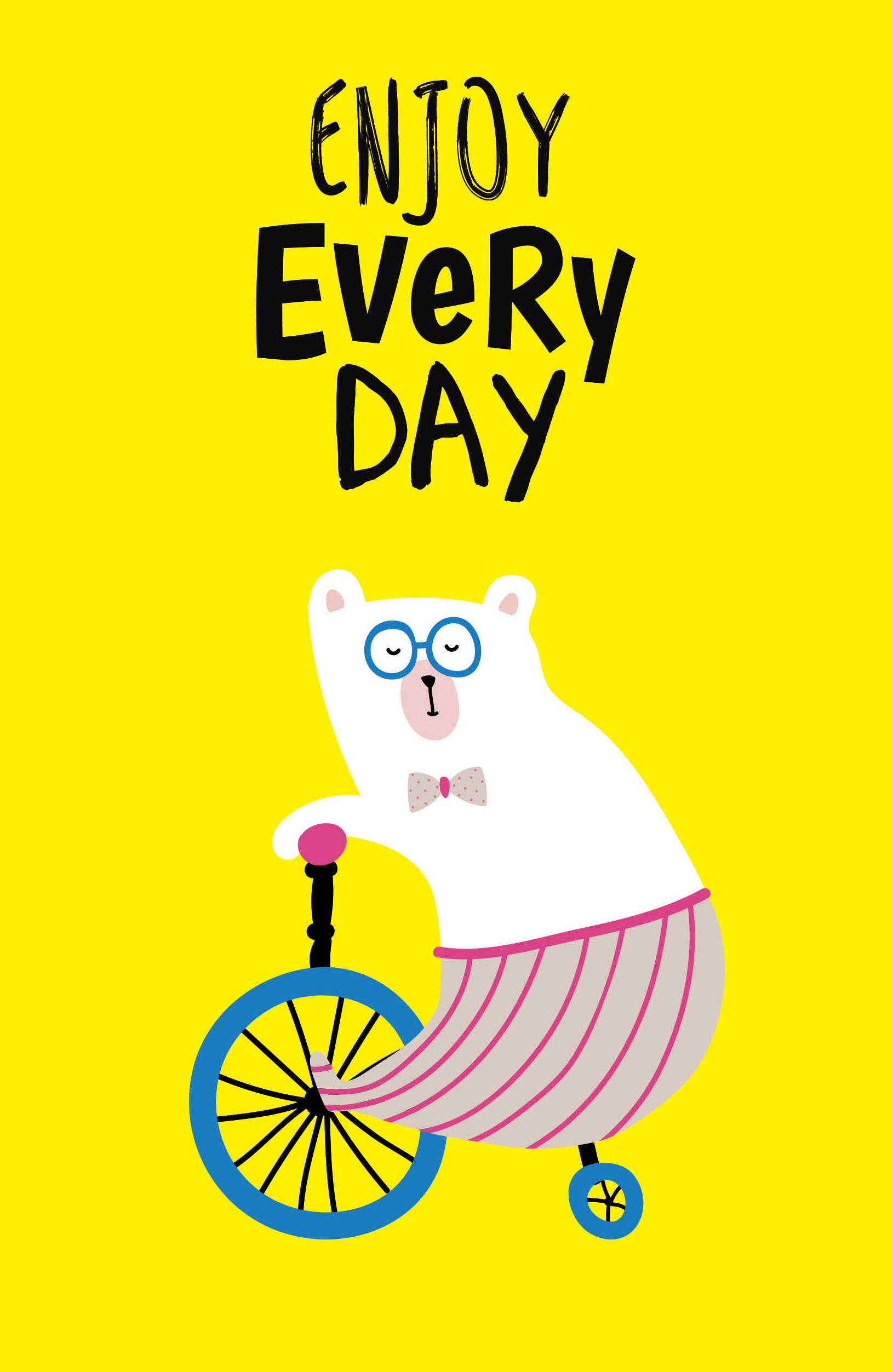 Enjoy every day (yellow) (А5)