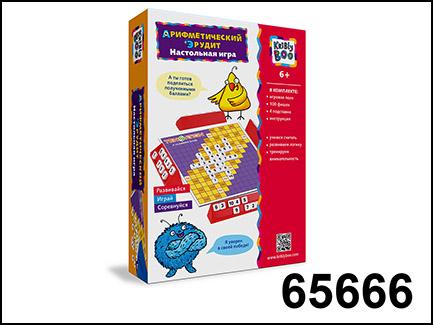 Kribly Boo. Настольная игра Арифметический Эрудит арт.65666